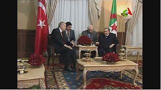 Le président turc Erdogan en visite officielle en Algérie
