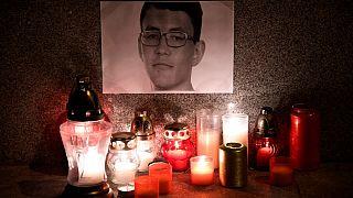Vigil held for slain Slovak journalist as government offers 1 million euro reward