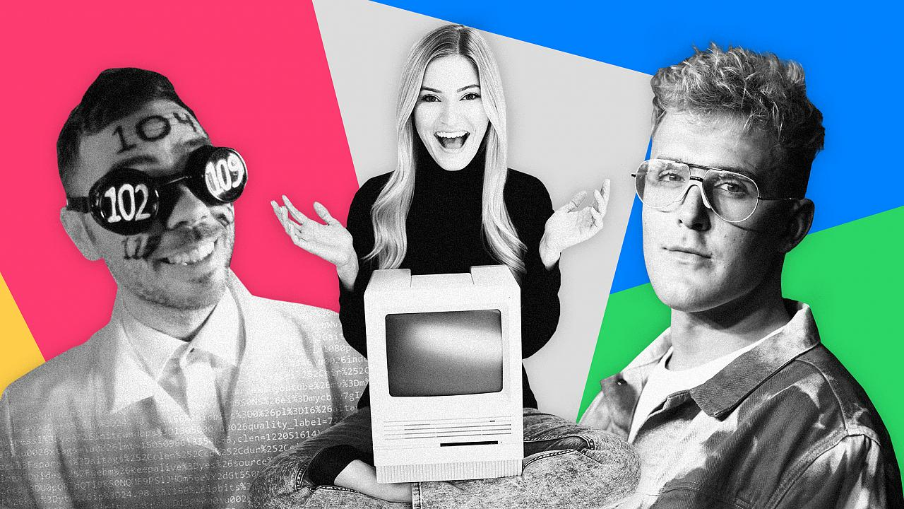 Image: With content creators like Nerd City, iJustine and Jake Paul, the 20