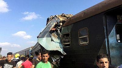 Egypte : au moins 15 morts dans une collision ferroviaire (nouveau bilan)