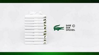 Lacoste swaps its iconic crocodile logo for endangered species