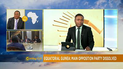Guinée équatoriale : le principal parti d'opposition dissous [The Morning Call]