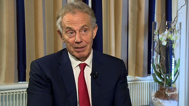Antigo PM britânico Tony Blair