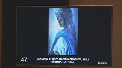 'Tutu' painting by Ben Enwonwu sells for $1.6 million