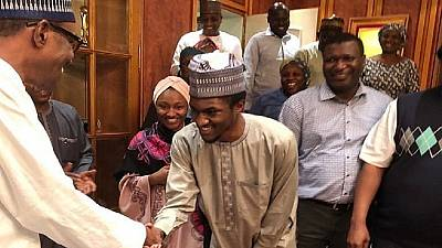 Buhari's son returns to Nigeria after surgery in Germany