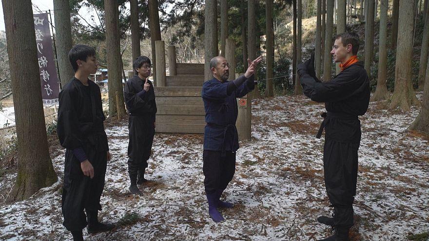 Would-be ninjas nurture their inner warrior in Akame, Japan