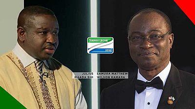 [Tableau] Présidentielle en Sierra Leone : deux principaux candidats, deux programmes peu contradictoires
