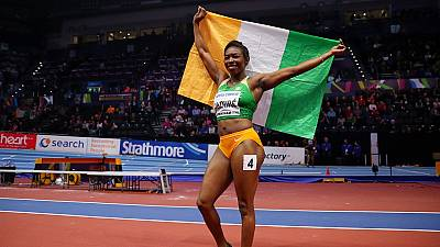 Athlétisme : la consécration pour Ahouré, doublé ivoirien