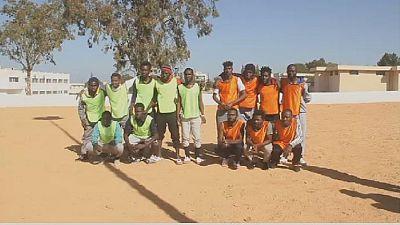 "Cameroon beats Senegal in Libyan ""migrant camp match"""