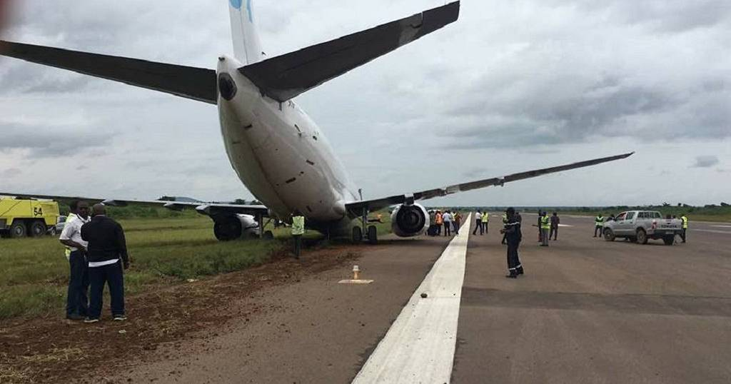 DRC: Plane misses runway in Lubumbashi   Africanews