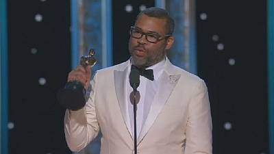 Jordan Peele makes history as first black to win Oscar for best original screenplay