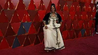 [Photos] Eritrea makes dressy showing at Oscars thanks to Tiffany Haddish