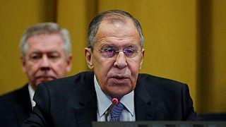 En tournée africaine, le ministre russe des Affaires étrangères rencontre des ténors de la révolution africaine