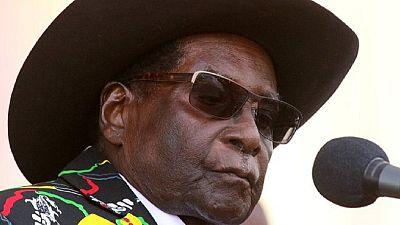 Mugabe backs opposition party in Zimbabwe against Mnangagwa