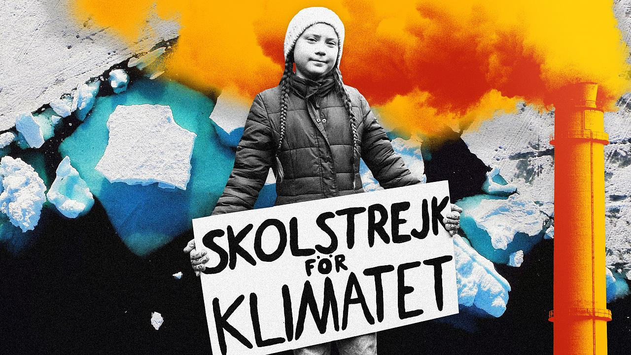 Image: The influence of 16-year-old climate activist Greta Thunberg helped