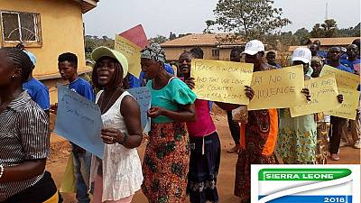 Sierra Leoneans from across globe return home for elections