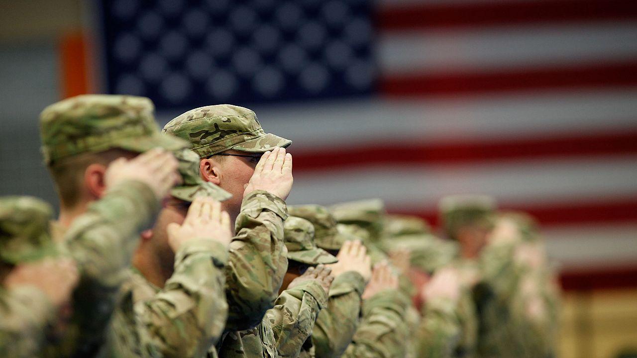 Image: U.S. Infantry Troops Return From Afghanistan