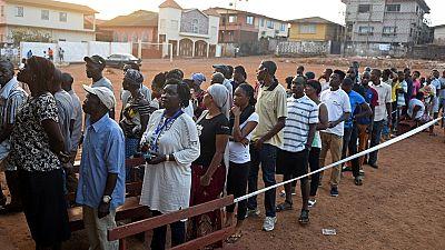 En direct sierra leone fermeture des bureaux de vote