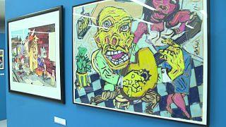 نمایشگاه سالانه «کارتون شیرا»؛ دنیای سیاست از نگاه کارتونیستهای پرتغالی