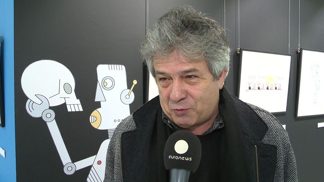 """António Antunes: """"O desenho é a nossa arma"""""""