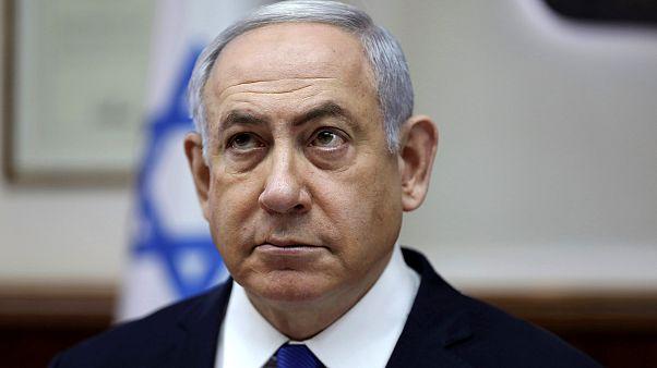 Image: Israeli Prime Minister Benjamin Netanyahu attends a cabinet meeting