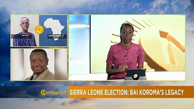 Sierra Leone decides [The Morning Call]