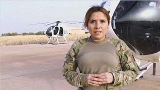 Une femme pilote de chasse au Mali