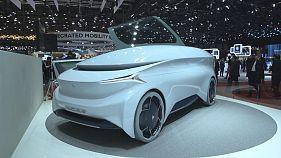 Os carros elétricos no Salão Automóvel de Genebra
