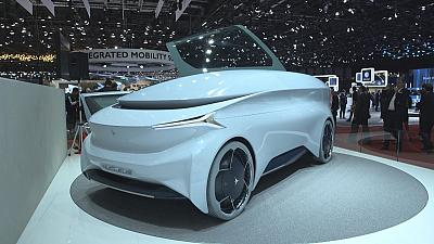Electric atmosphere at Geneva International Motor Show