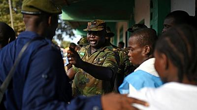 Sierra Leone elections: Police raid offices of main opposition candidate