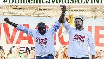 Italie/élections : le premier sénateur noir est membre d'un parti extrémiste