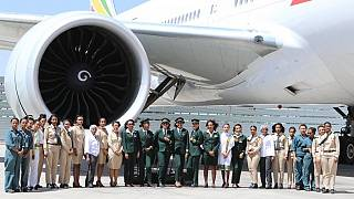 Ethiopian Airlines dispatches all-female crew for historic Argentina flight
