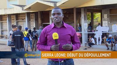 Vote count underway in Sierra Leone [The Morning Call]