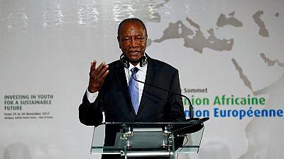 Guinée : le président Alpha Condé hué par des femmes