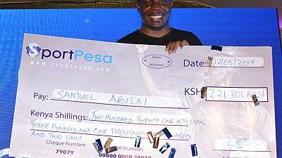 Kenyan Wins $2 Million from Mega Jackpot Football Bet