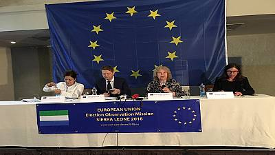 Sierra Leone : pas d'incidents majeurs lors des votes (UE)