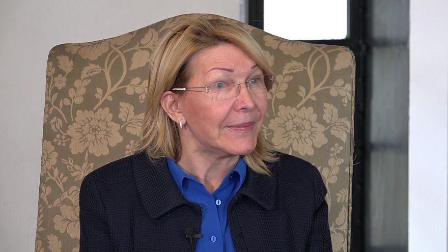 Entrevista exclusiva com a ex-procuradora geral da Venezuela