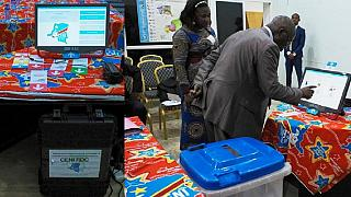 Opposition politicians in DR Congo protest planned use of voting machines