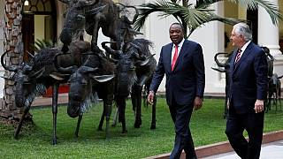 Rex Tillerson salue le rapprochement Kenyatta - Odinga