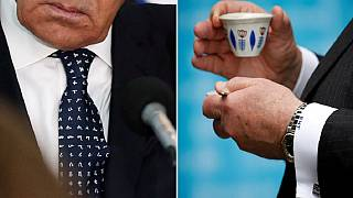 Ethiopian coffee for Tillerson, Ethio-themed tie for 'casual' Lavrov