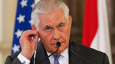 Urgent work in US forces Tillerson to cut Africa trip short