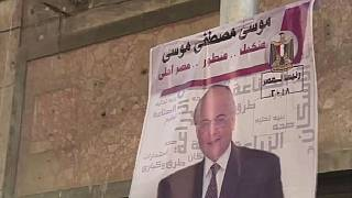 Egypt main presidential contender rallies ahead of polls