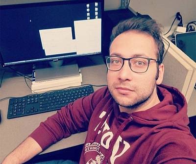 Mojtaba Abbasnezhad, 27, was studying for a PhD at the University of Toronto.