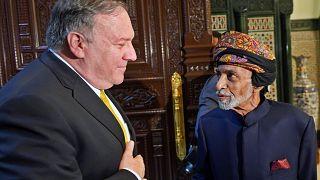 U.S. Secretary of State Mike Pompeo meets with Sultan of Oman Qaboos bin Sa