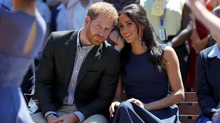 Image: Harry and Meghan