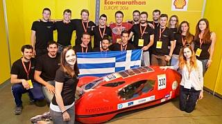 Greek engineering students build prototype electric car