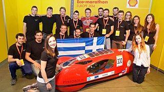 Greek engineering students build prototype electric car