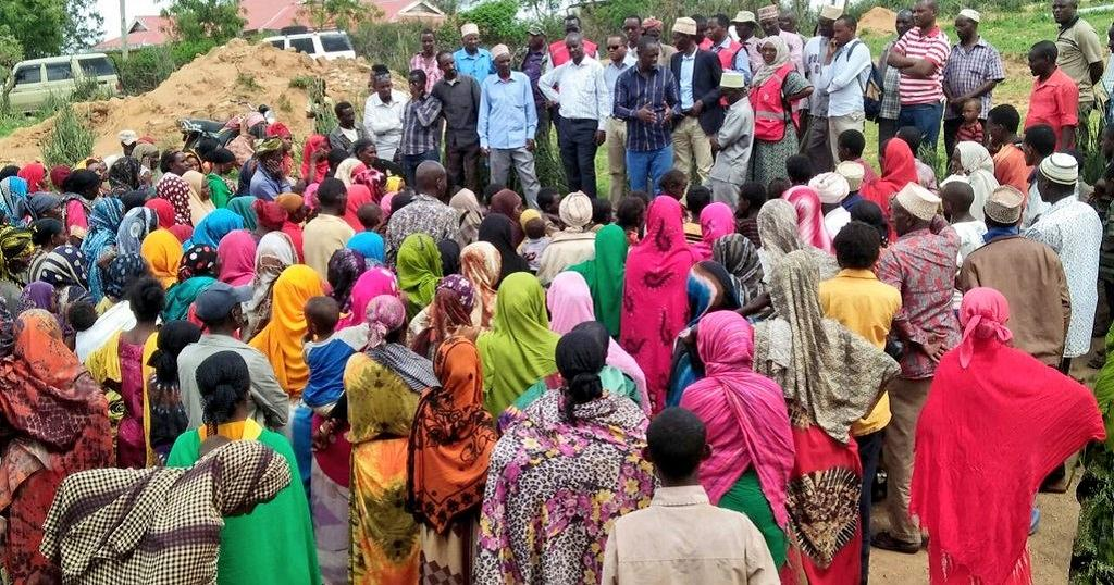 [Photos] Kenya catering for 2000 Ethiopians who fled Moyale killings