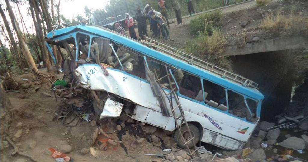 Ethiopia: Thirty eight people killed in a bus accident (state radio)
