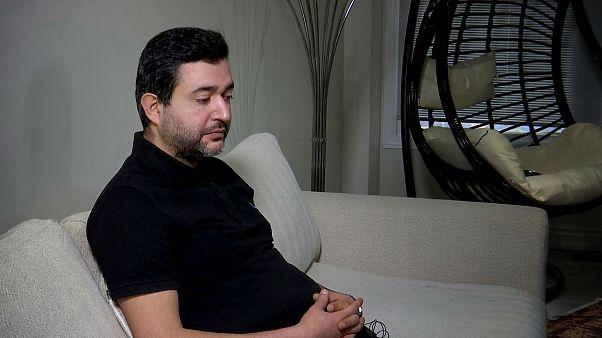 Image: Meisam Salahi speaks about his brother, Moshen Salahi, and sister-in